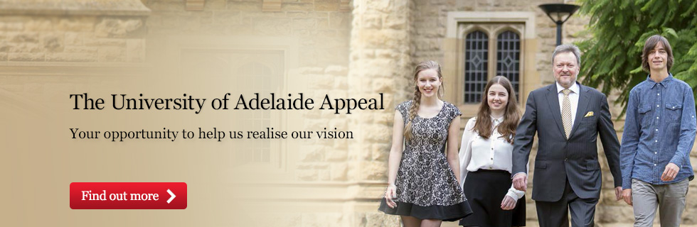 The University of Adelaide Appeal