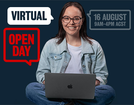 Virtual Open Day 2020 | 16 August 9am-4pm ACST